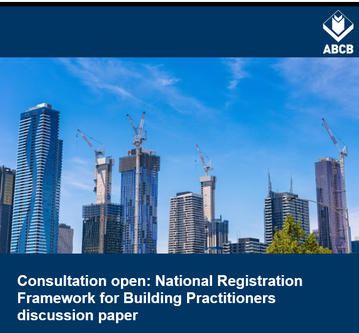 National Registration Framework for Building Practioners discussion paper