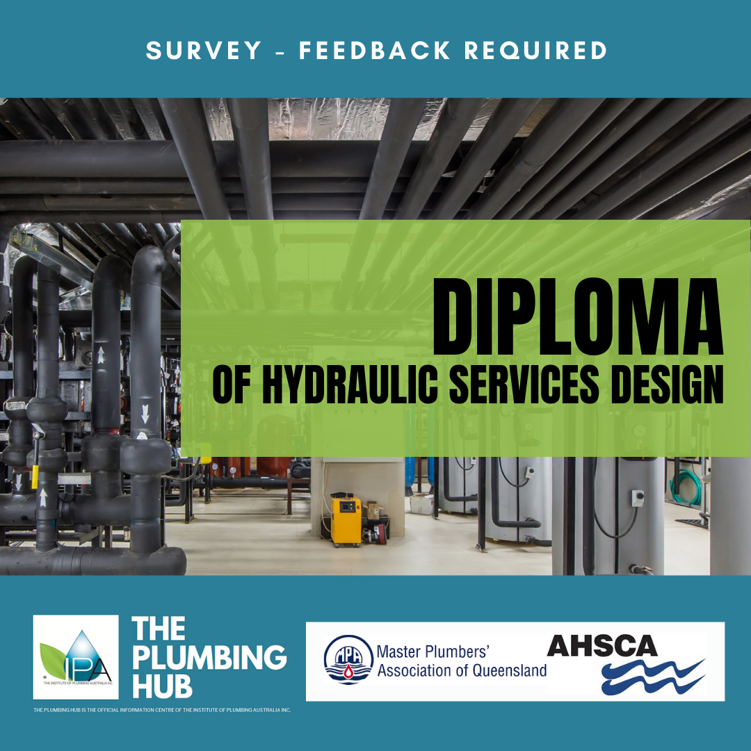 Diploma of Hydraulic Services Design – Feedback required
